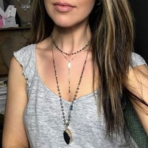 Starry Night Three-Row Convertible Necklace